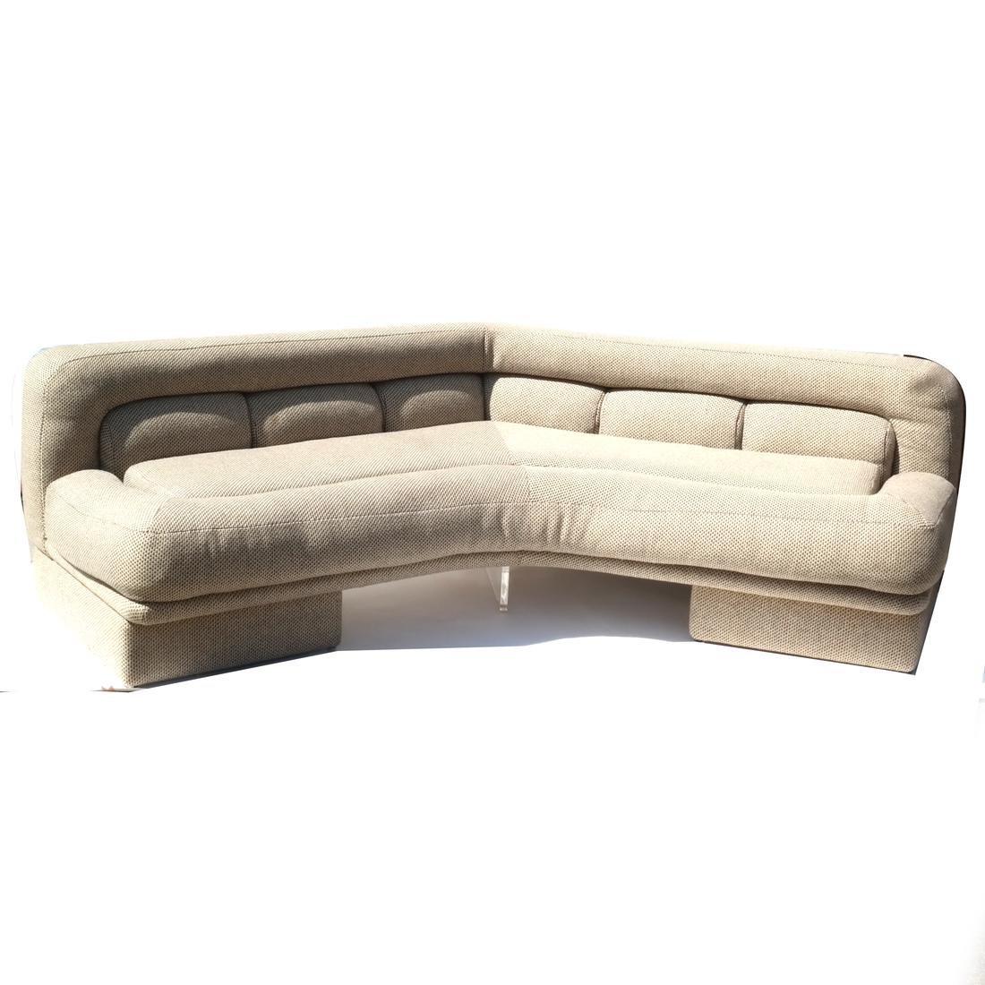 Vladimir Kagan Designed Boomerang Sofa