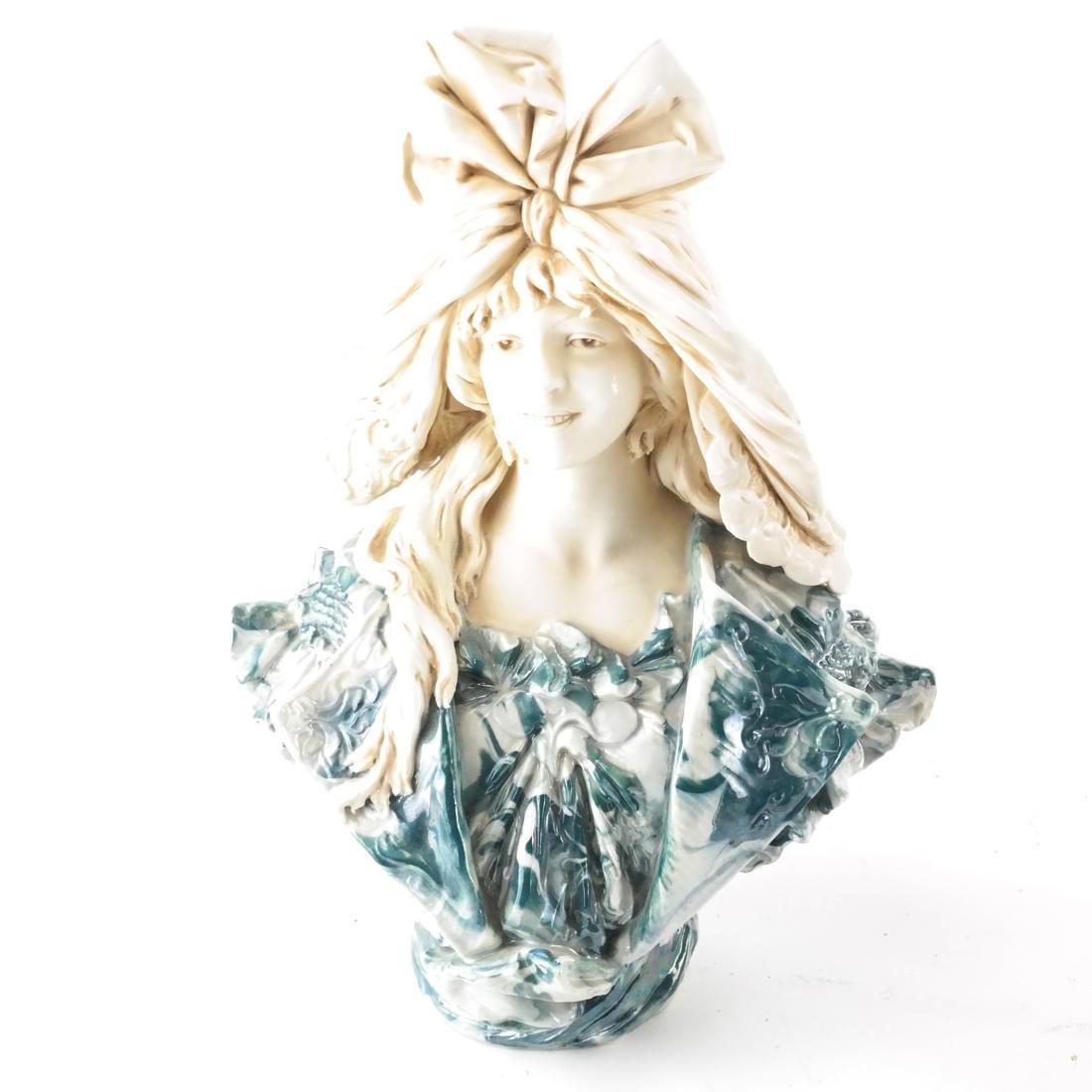 Two Royal Dux Ceramic Sculptures - 2