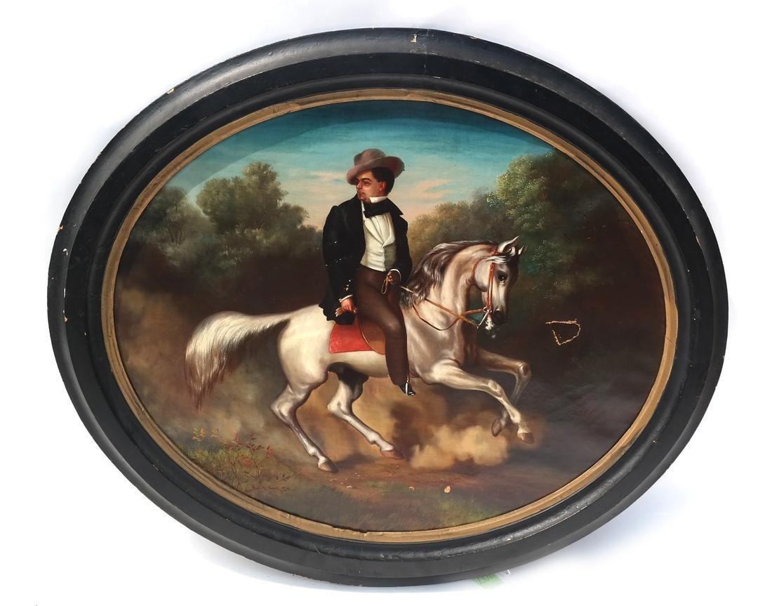 Style of Alesandro E. Mario, Horseback