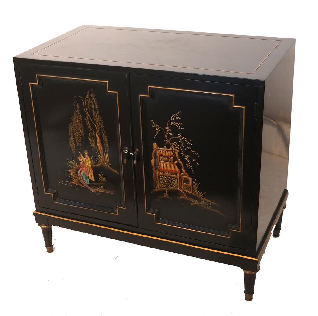 Art Moderne Chinoiserie Cabinet