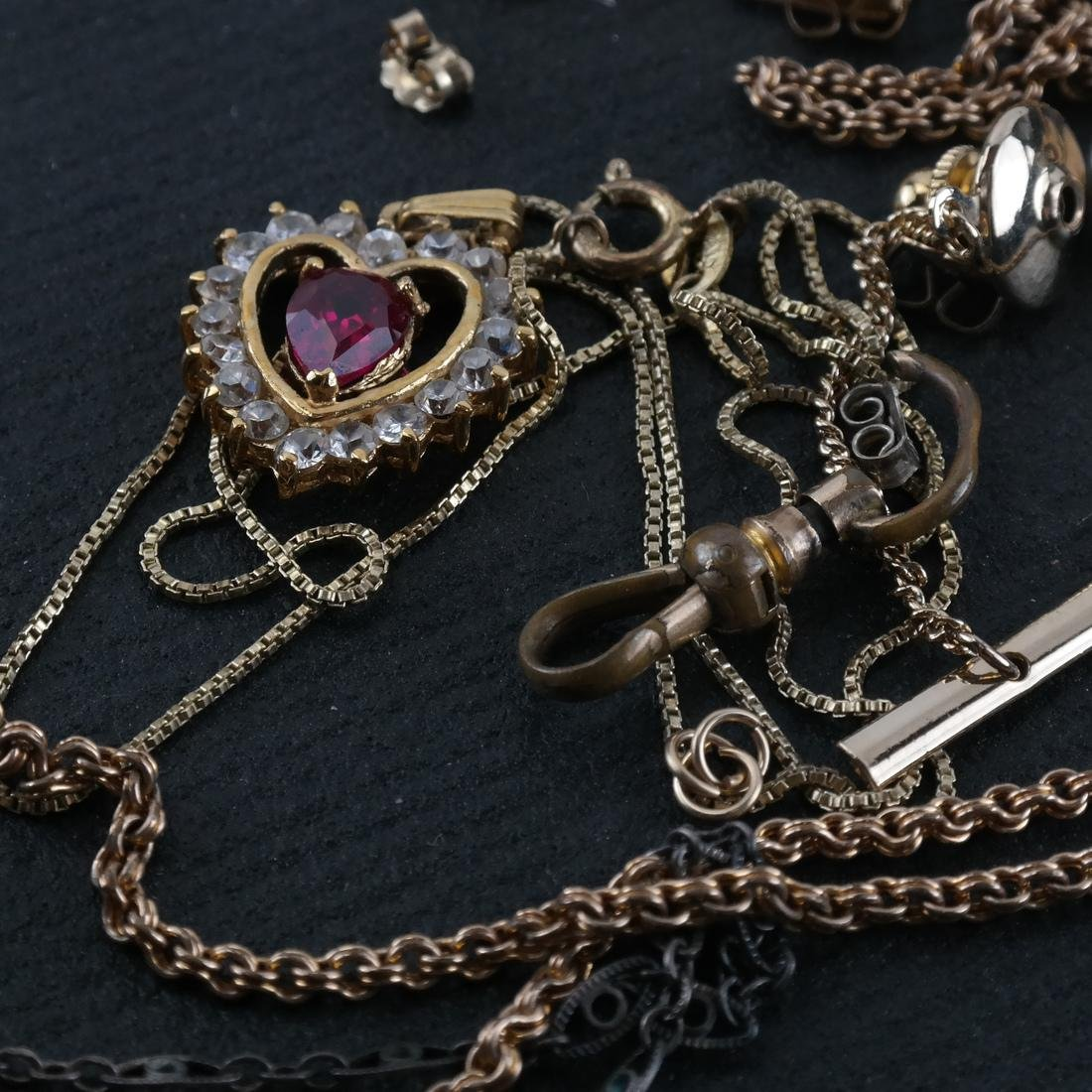 Assorted Gold-Filled & Sterling Findings - 2