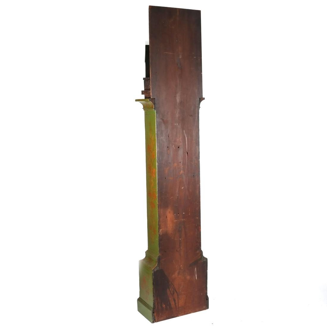 English Chinoiserie Grandfather Clock - 9