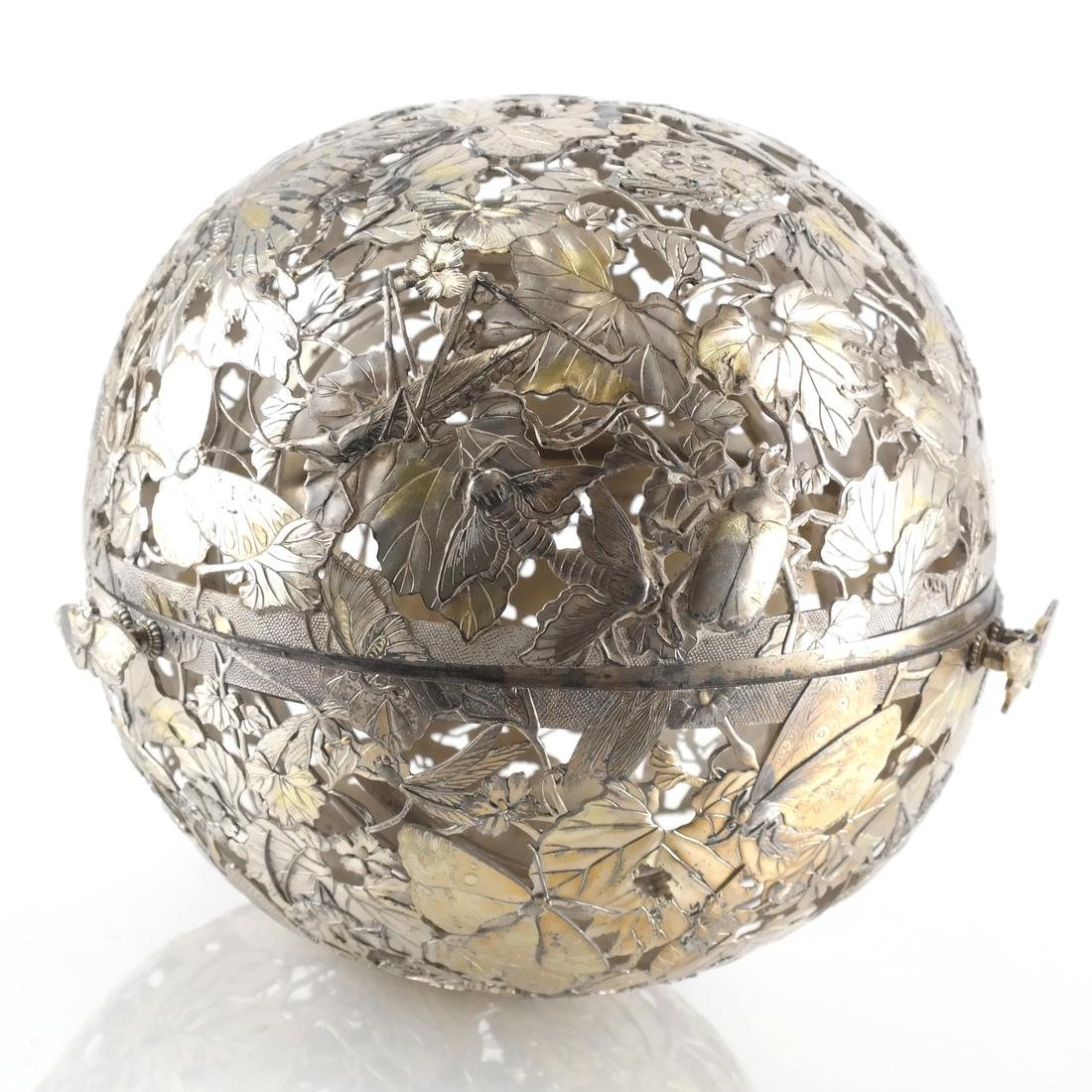 Afghan /Central Asian Vermeil & Silver Orb