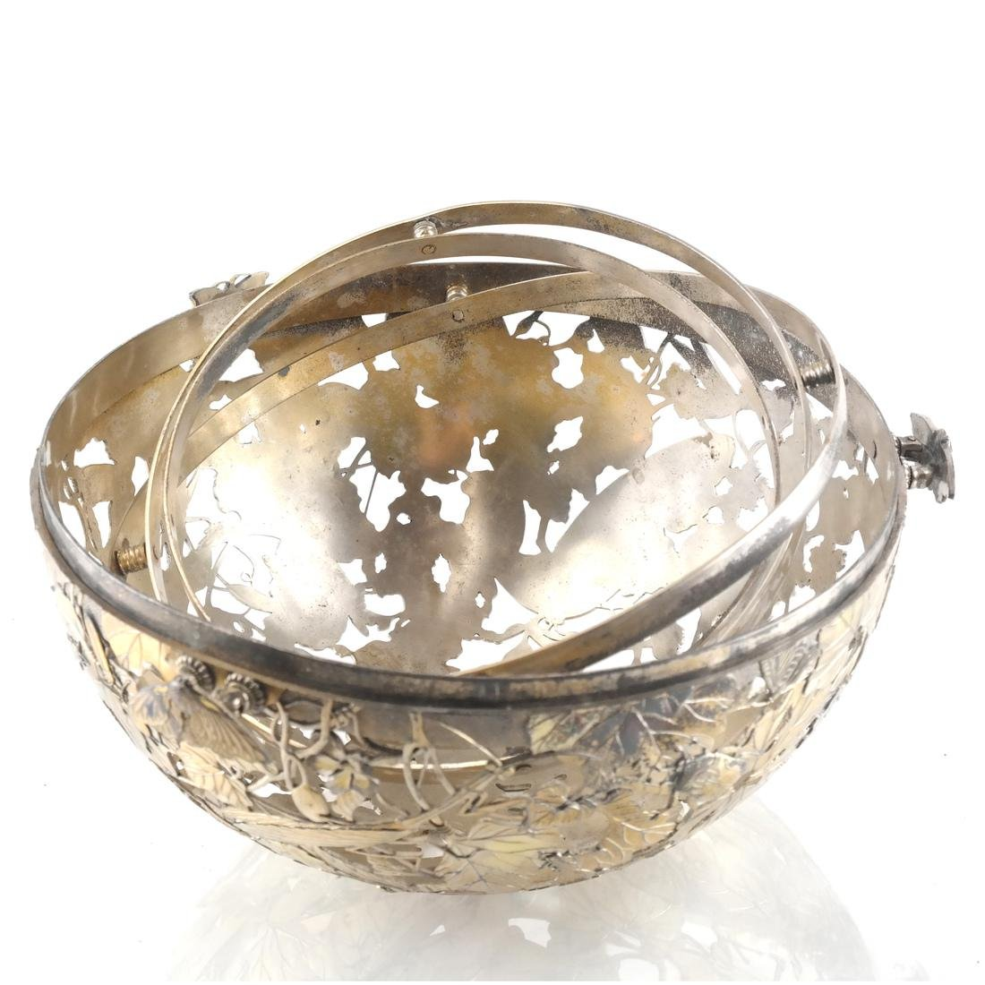 Afghan /Central Asian Vermeil & Silver Orb - 7
