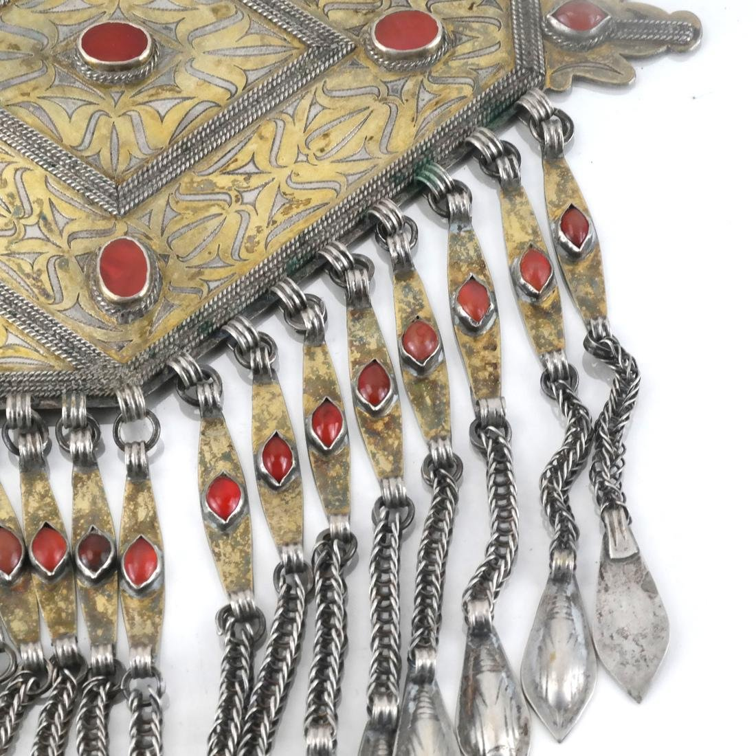 Afghan/Central Asian Antique Jeweled Breastplate - 2