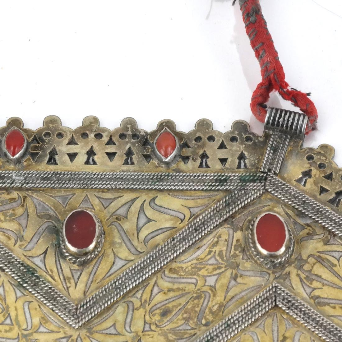 Afghan/Central Asian Antique Jeweled Breastplate - 4