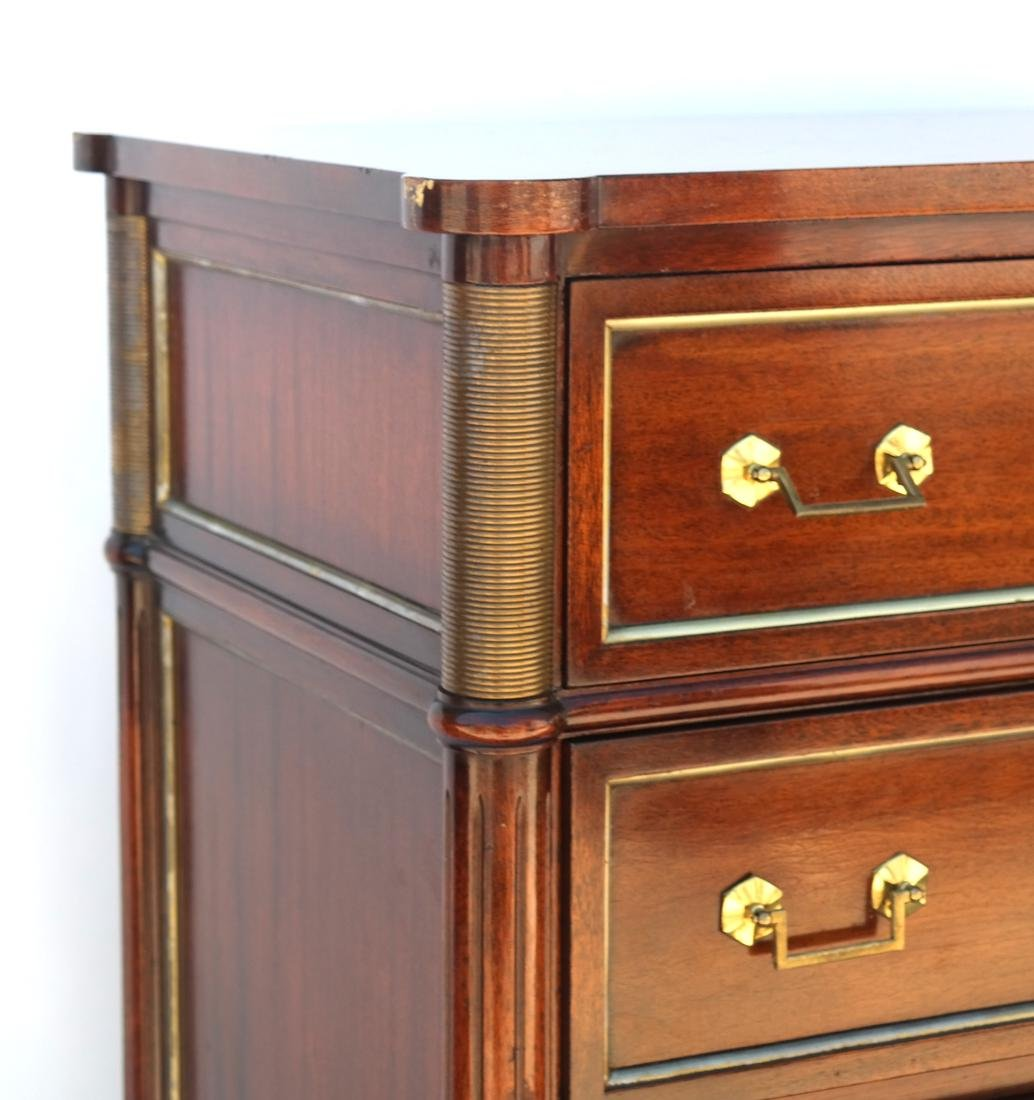 """French Directoire-Style Semanier Stamped """"Jansen"""" - 2"""