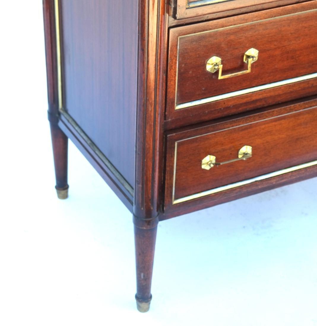 """French Directoire-Style Semanier Stamped """"Jansen"""" - 3"""