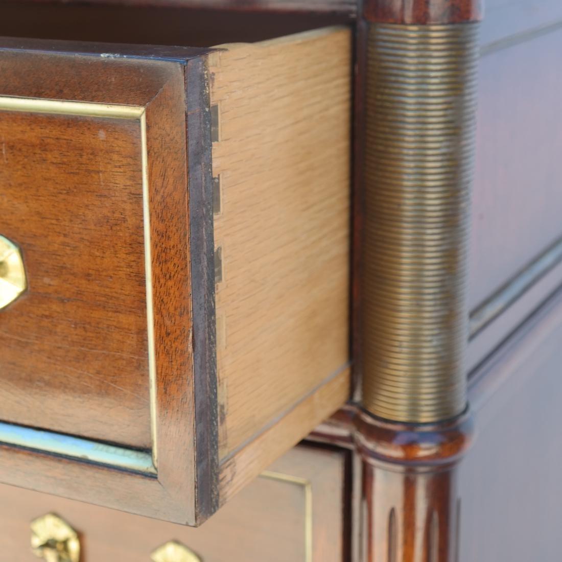 """French Directoire-Style Semanier Stamped """"Jansen"""" - 4"""