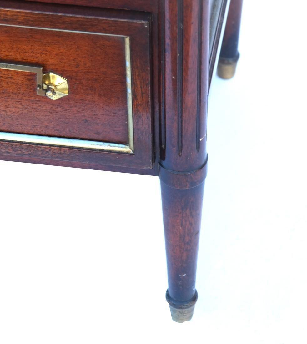 """French Directoire-Style Semanier Stamped """"Jansen"""" - 6"""