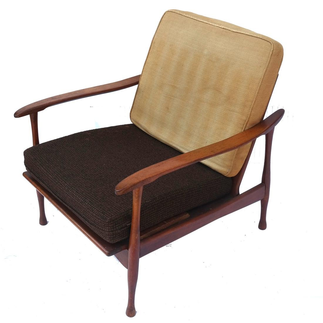Two 20th Century Modern Armchairs - 5