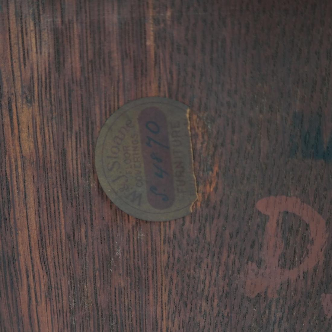 Jacobean-Style Inlaid Oak Sideboard - 10