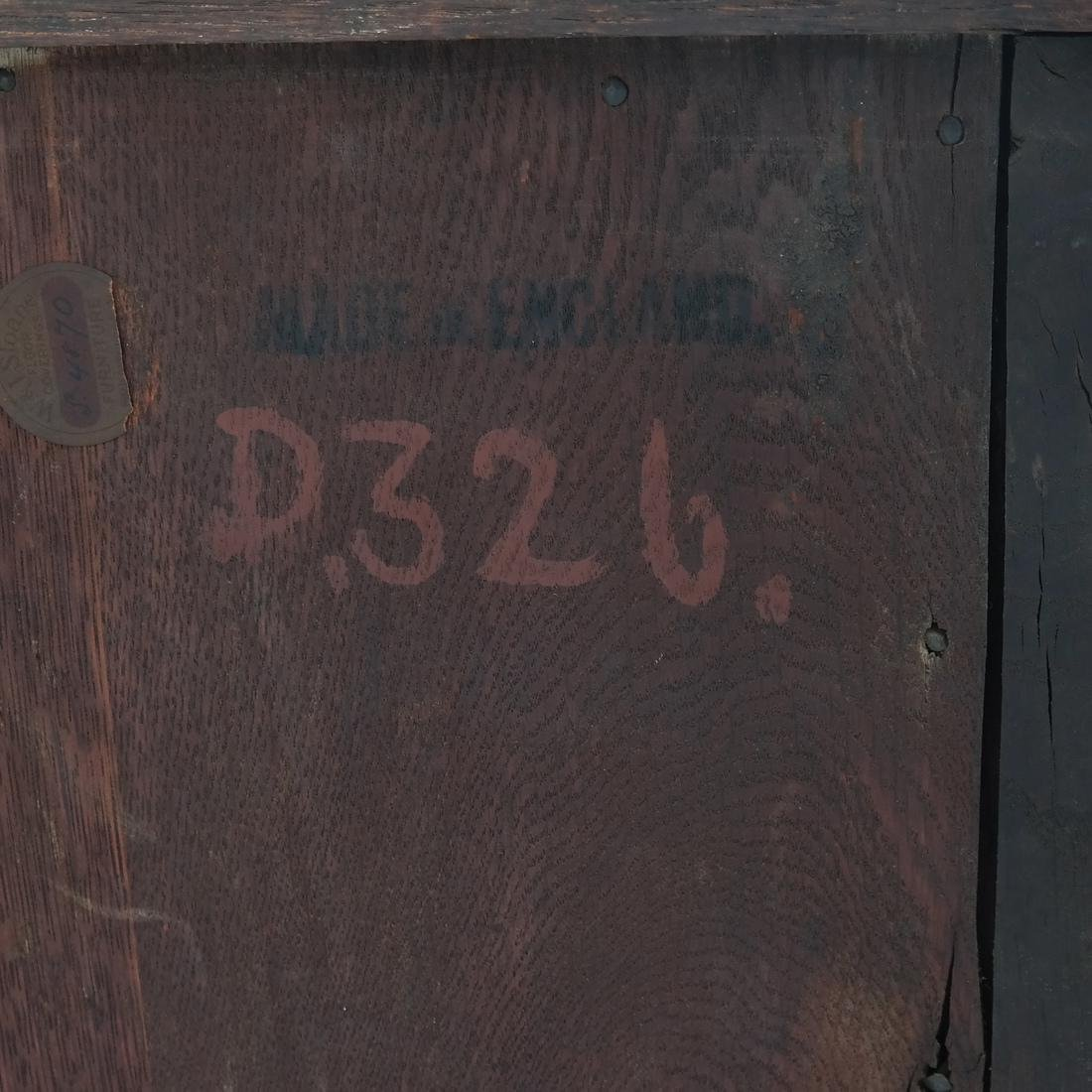 Jacobean-Style Inlaid Oak Sideboard - 9