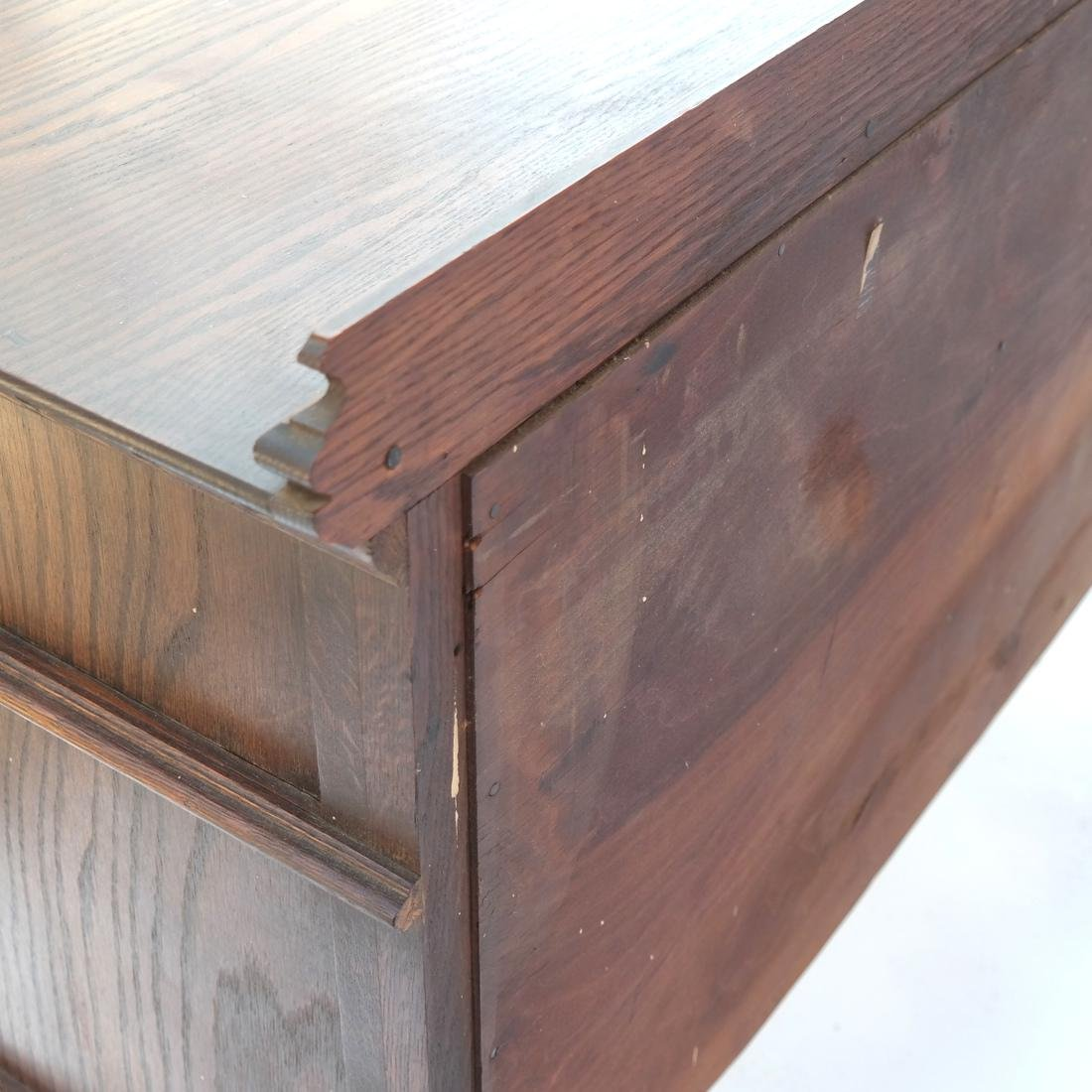 20th Century Oak Carved Sideboard. - 7