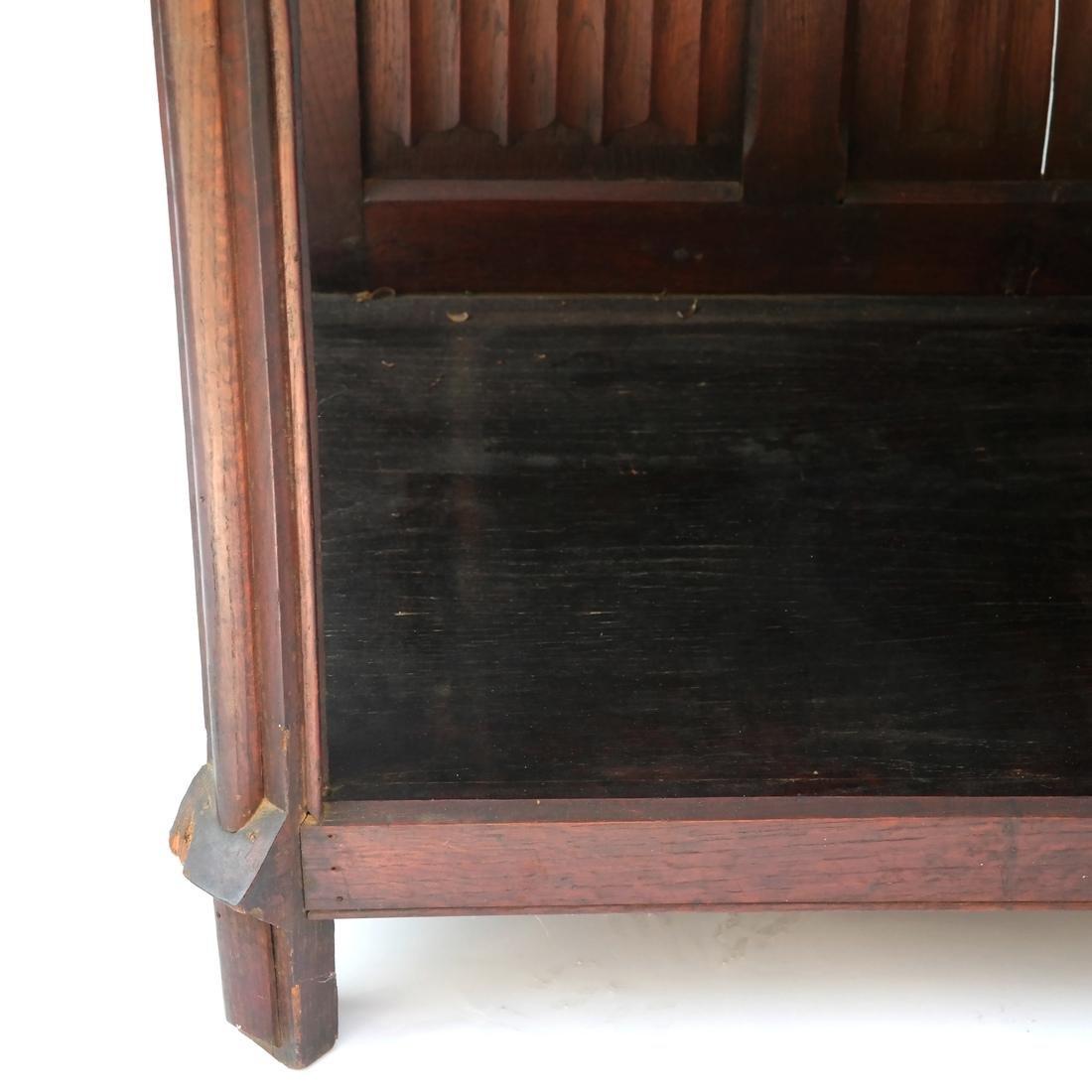 Tudor-Style Two-Door Cabinet - 3