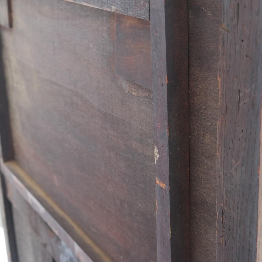 Tudor-Style Two-Door Cabinet - 6