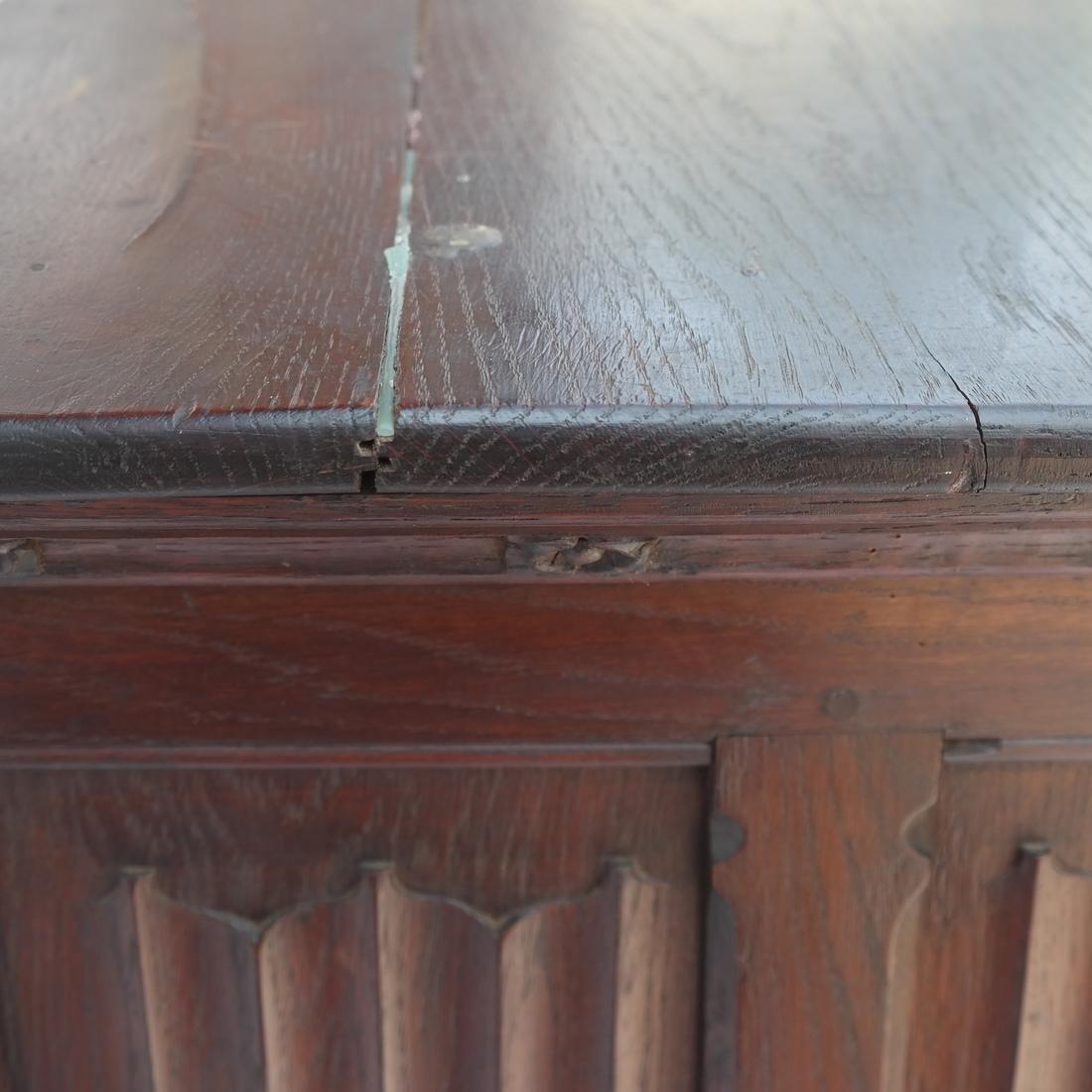 Tudor-Style Two-Door Cabinet - 7