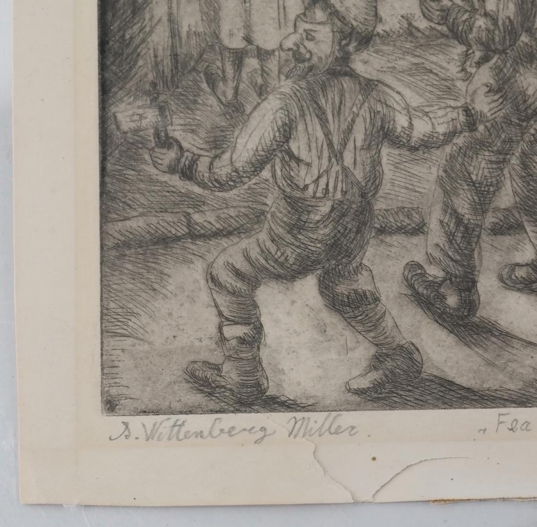 Shulamith Wittenburg Miller Etching - 7
