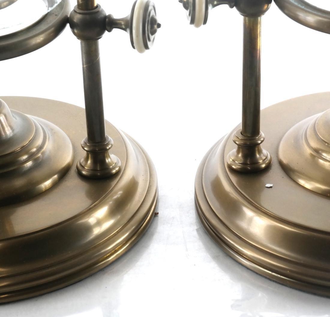 Pair of Unusual Hurricane Candlestick/Lanterns - 4