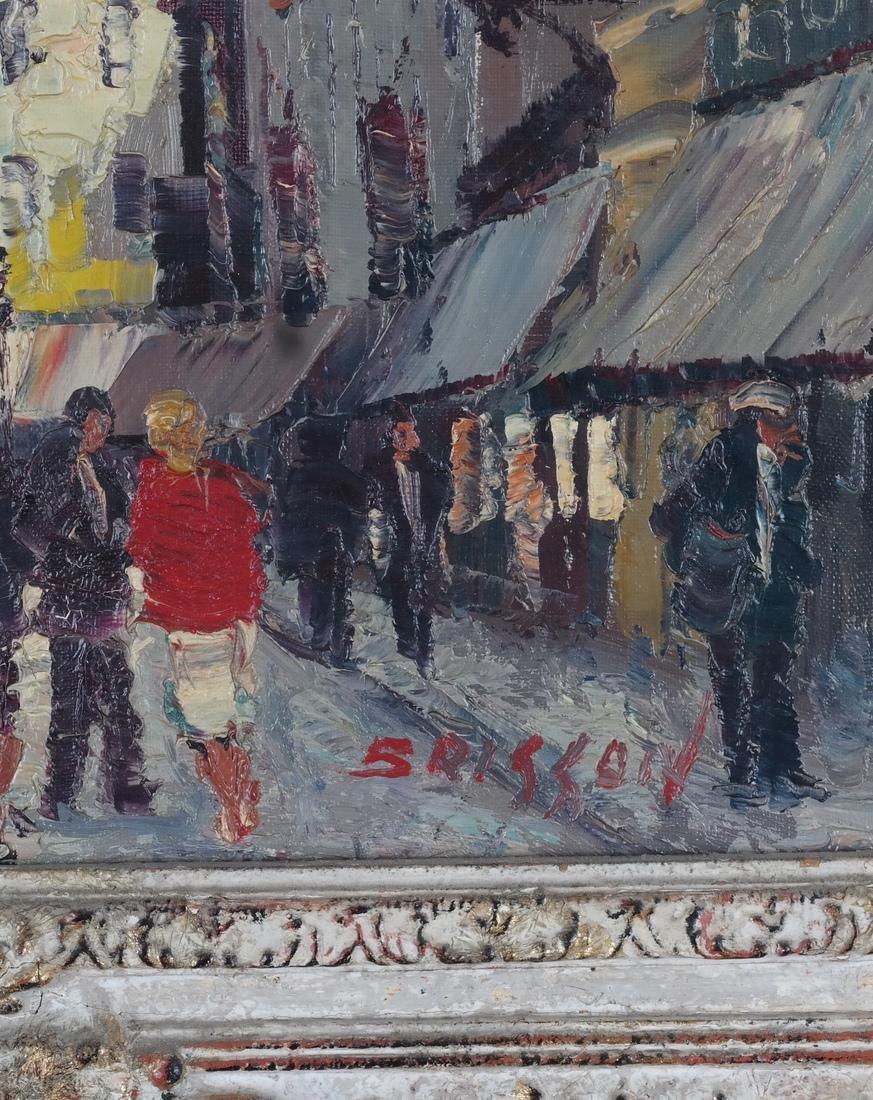 Marcel Brisson Parisian Street O/C - 3