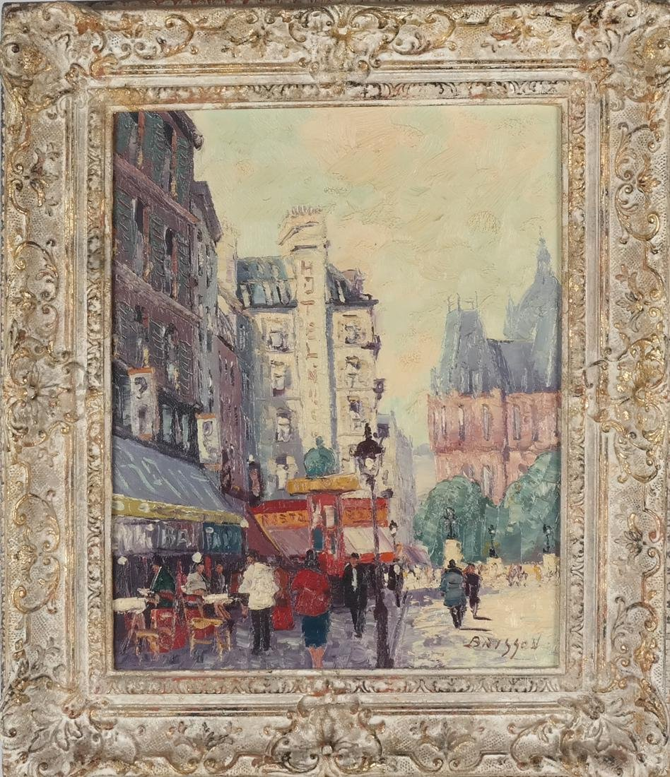 Marcel Brisson Parisian Street O/C - 2