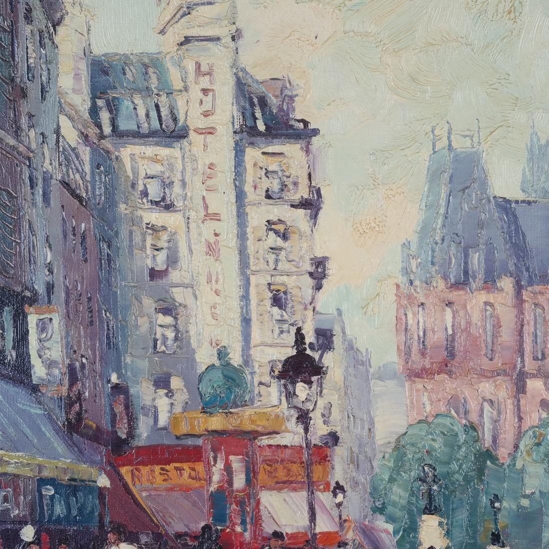 Marcel Brisson Parisian Street O/C - 4