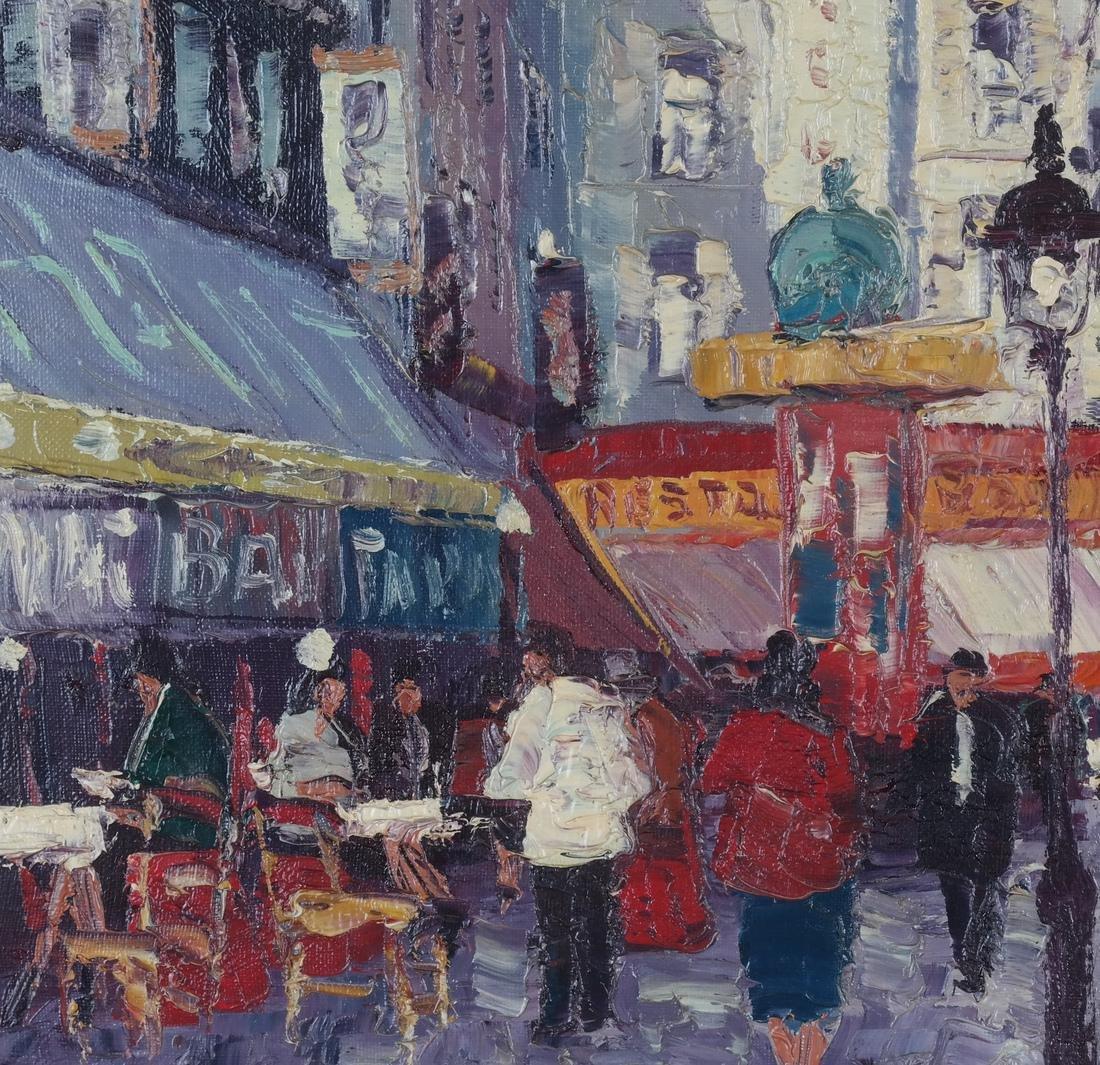 Marcel Brisson Parisian Street O/C - 5