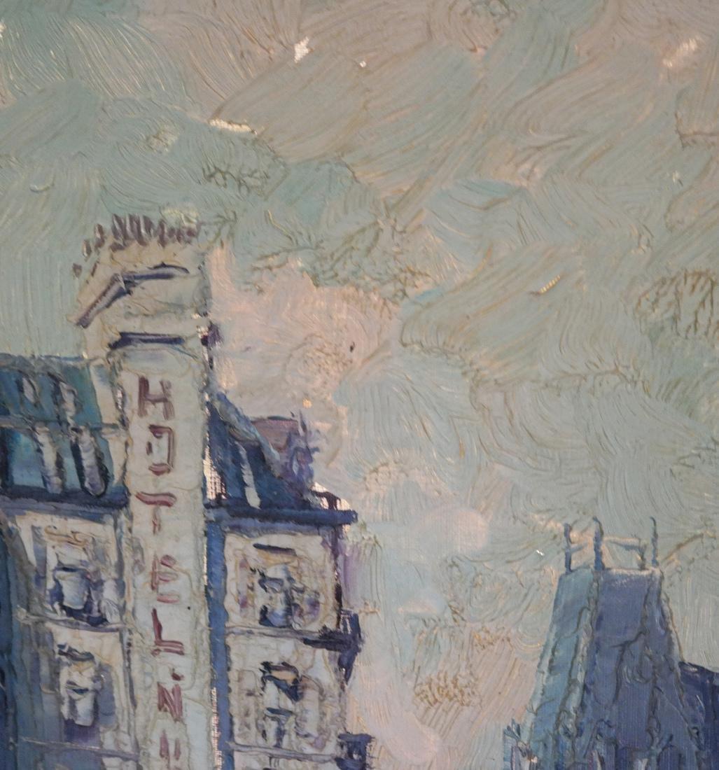 Marcel Brisson Parisian Street O/C - 8