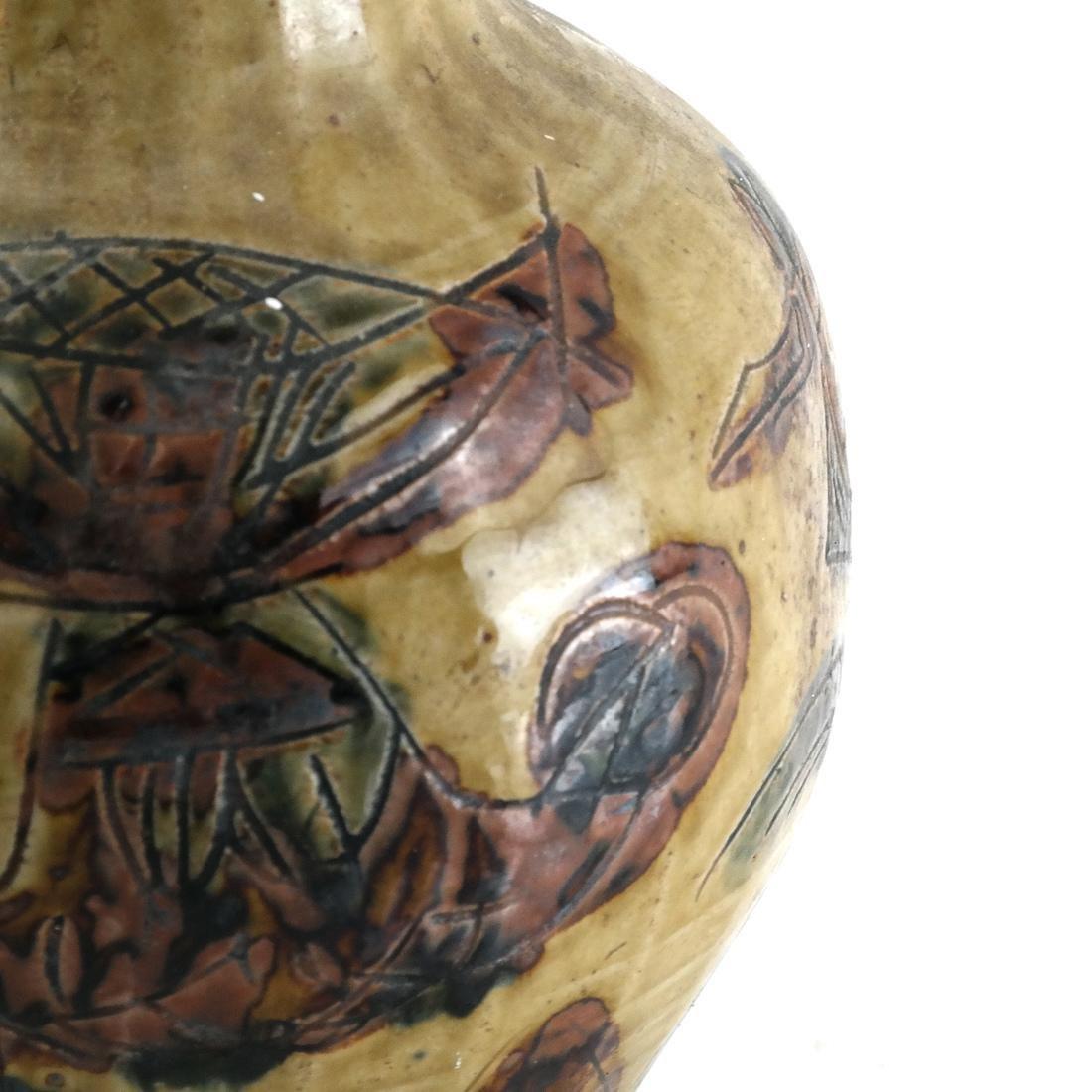 Modern Decorated Ceramic Vase - 3