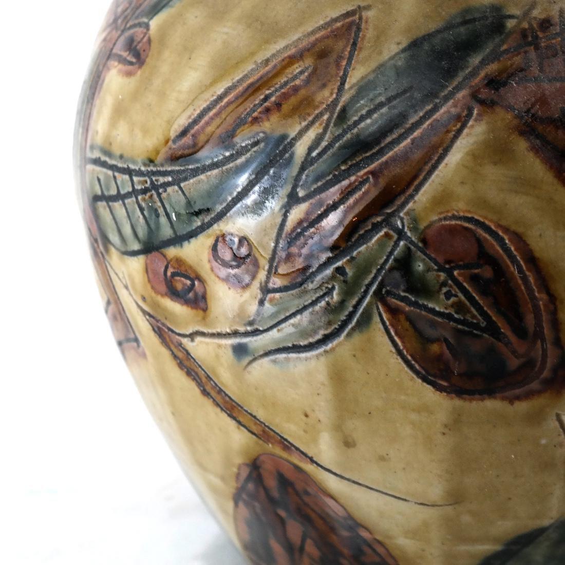 Modern Decorated Ceramic Vase - 4