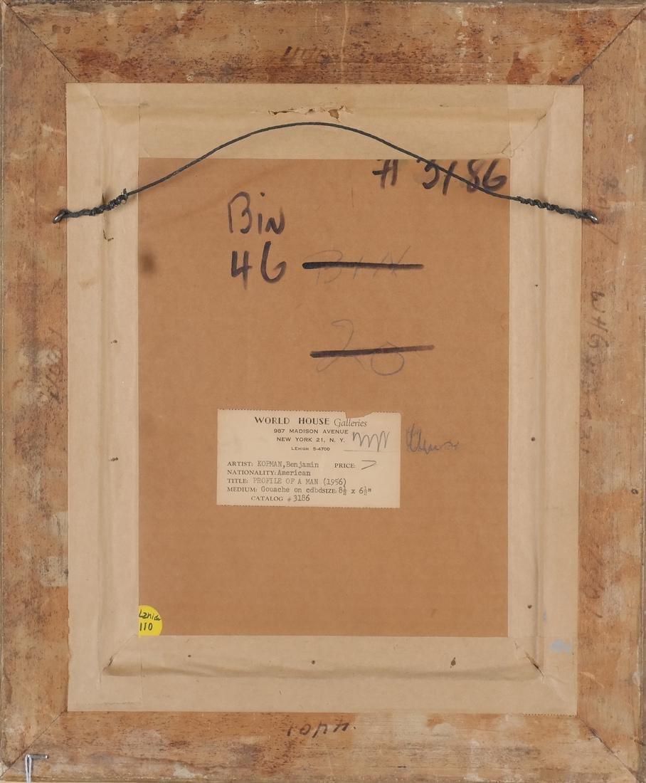 Benjamin Kopman (Amer.) - Gouache - 4