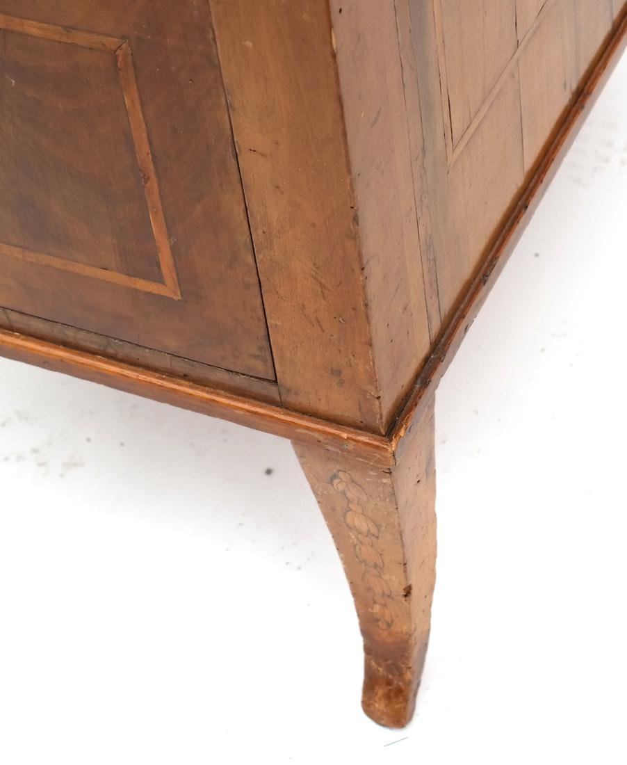 Antique Continental Olivewood Vanity Poudreuse - 9