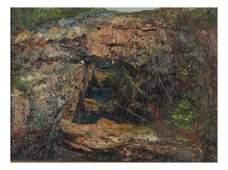 19th C German School Oil on Canvas