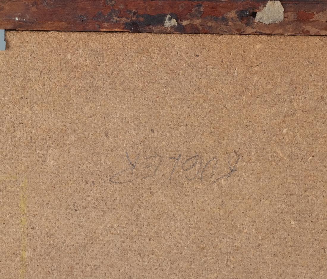 19th C. German School Oil on Canvas - 4