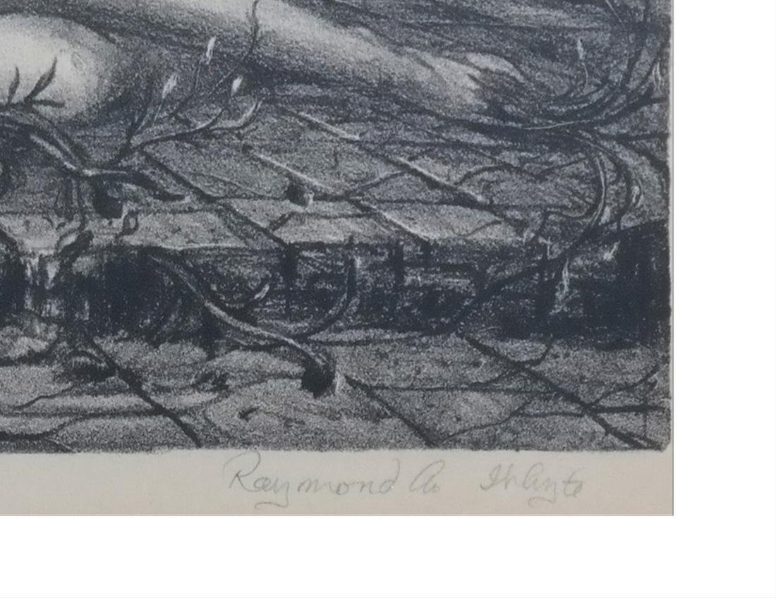 "Raymond Whyte ""Daphne III"" Lithograph - 3"
