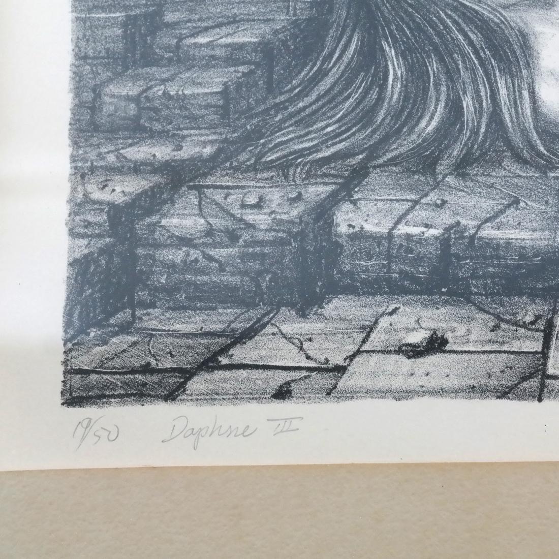 "Raymond Whyte ""Daphne III"" Lithograph - 4"