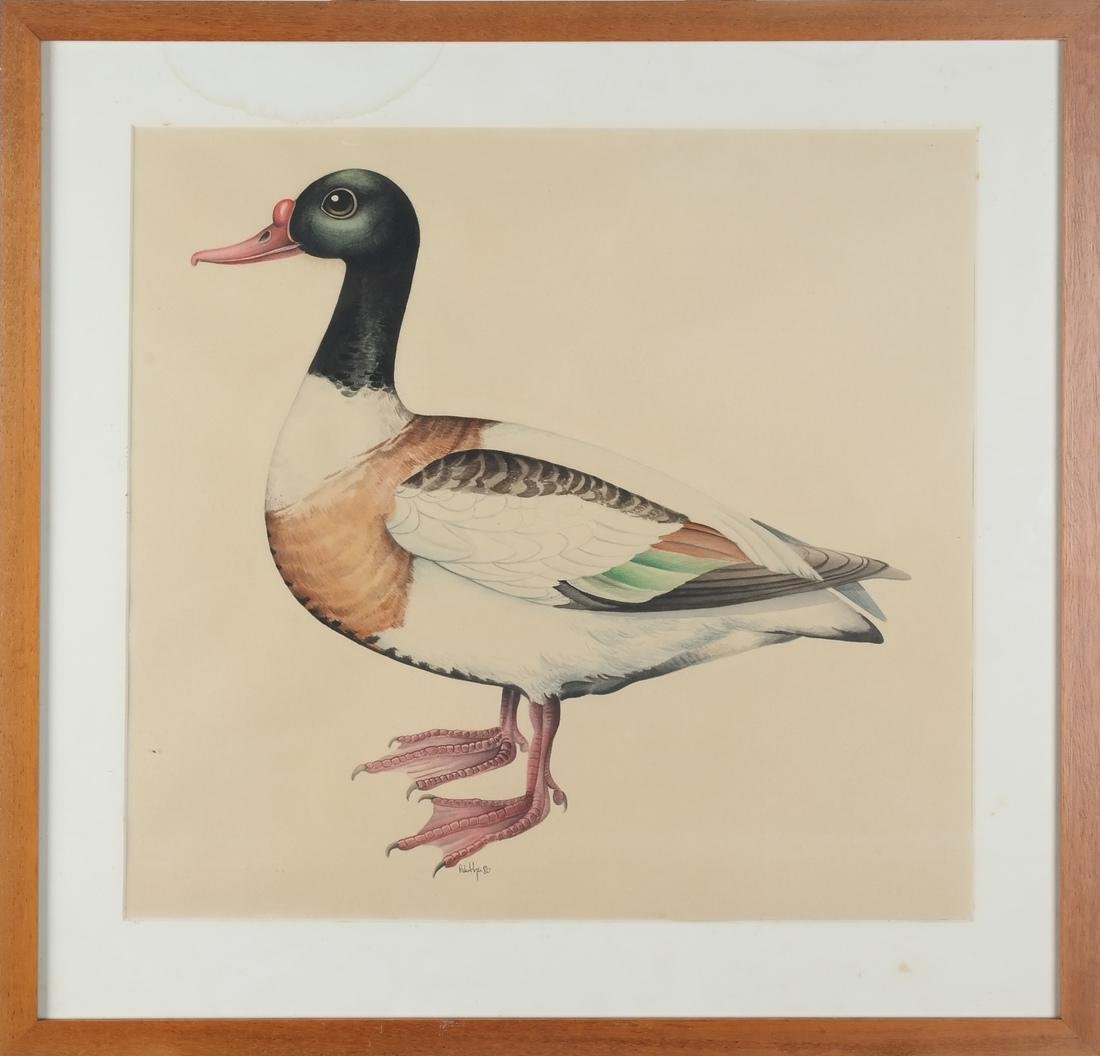 Harbe Huppe - Two Ducks, Watercolor - 2