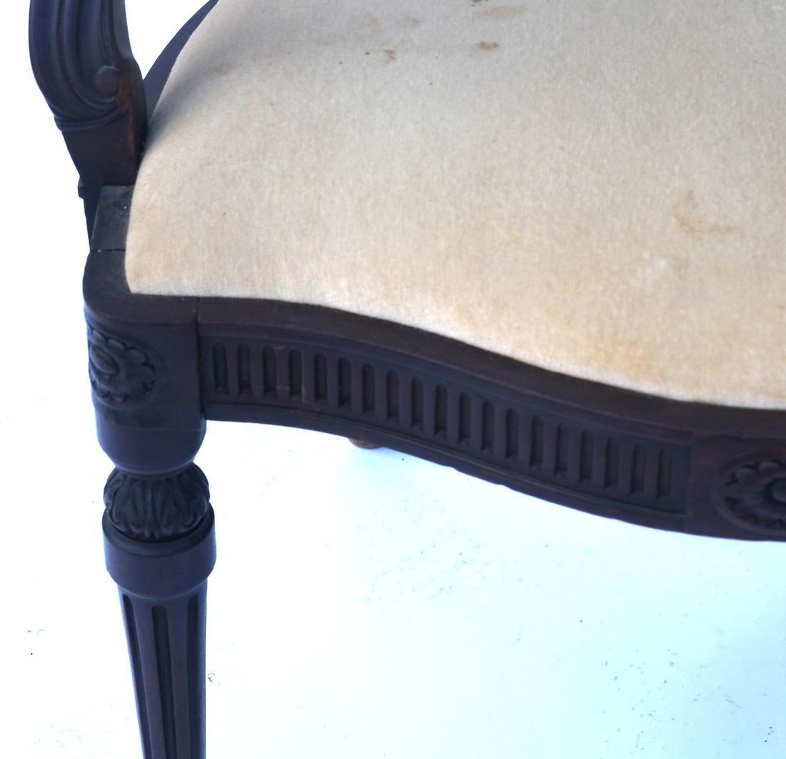 Wheel Back Open-Work Arm Chair - 4