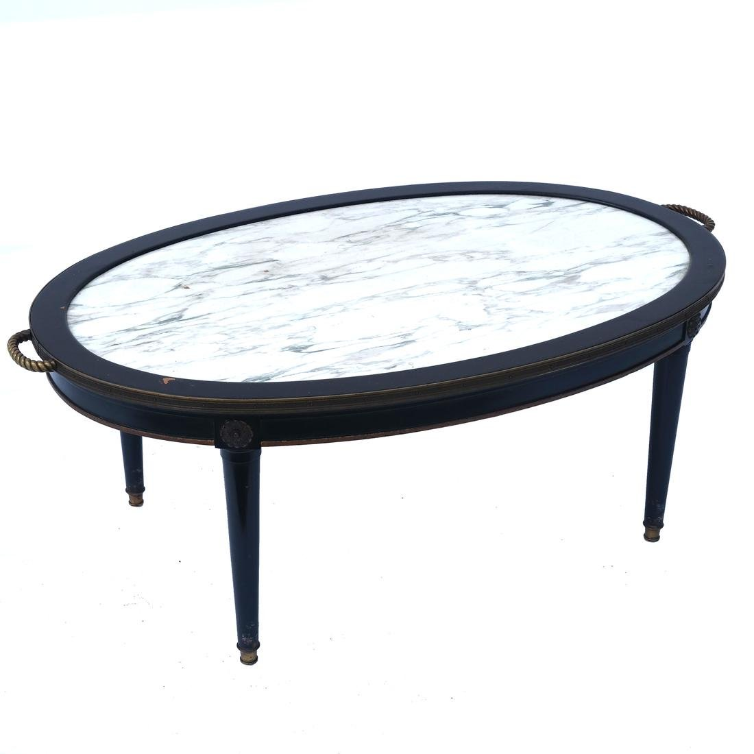 Marble Inset Coffee Table