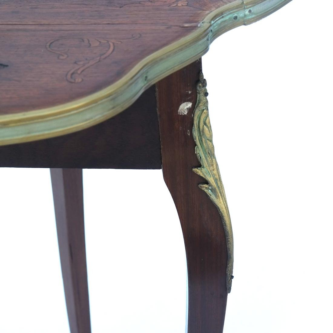 French Inlaid Table - 3