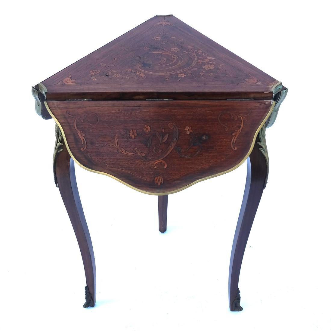 French Inlaid Table - 6