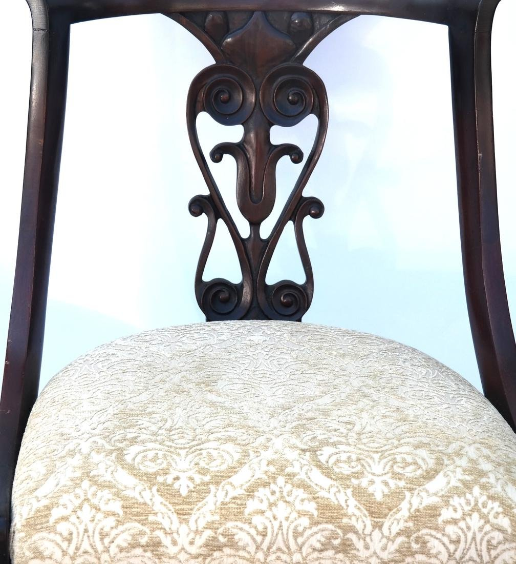 Set of Four Mahogany Side Chairs - 2