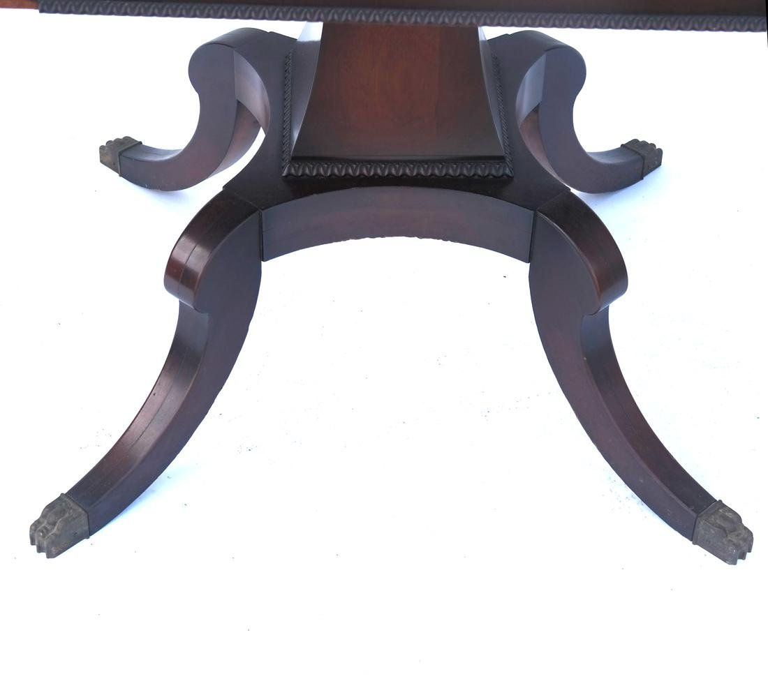 Mahogany Banded-Style Sofa Table - 2