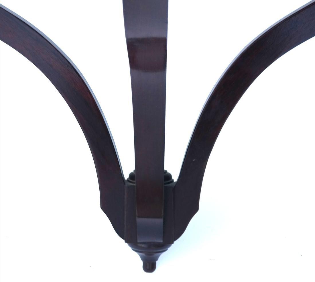 Mahogany Serpentine-Form Bracket - 2