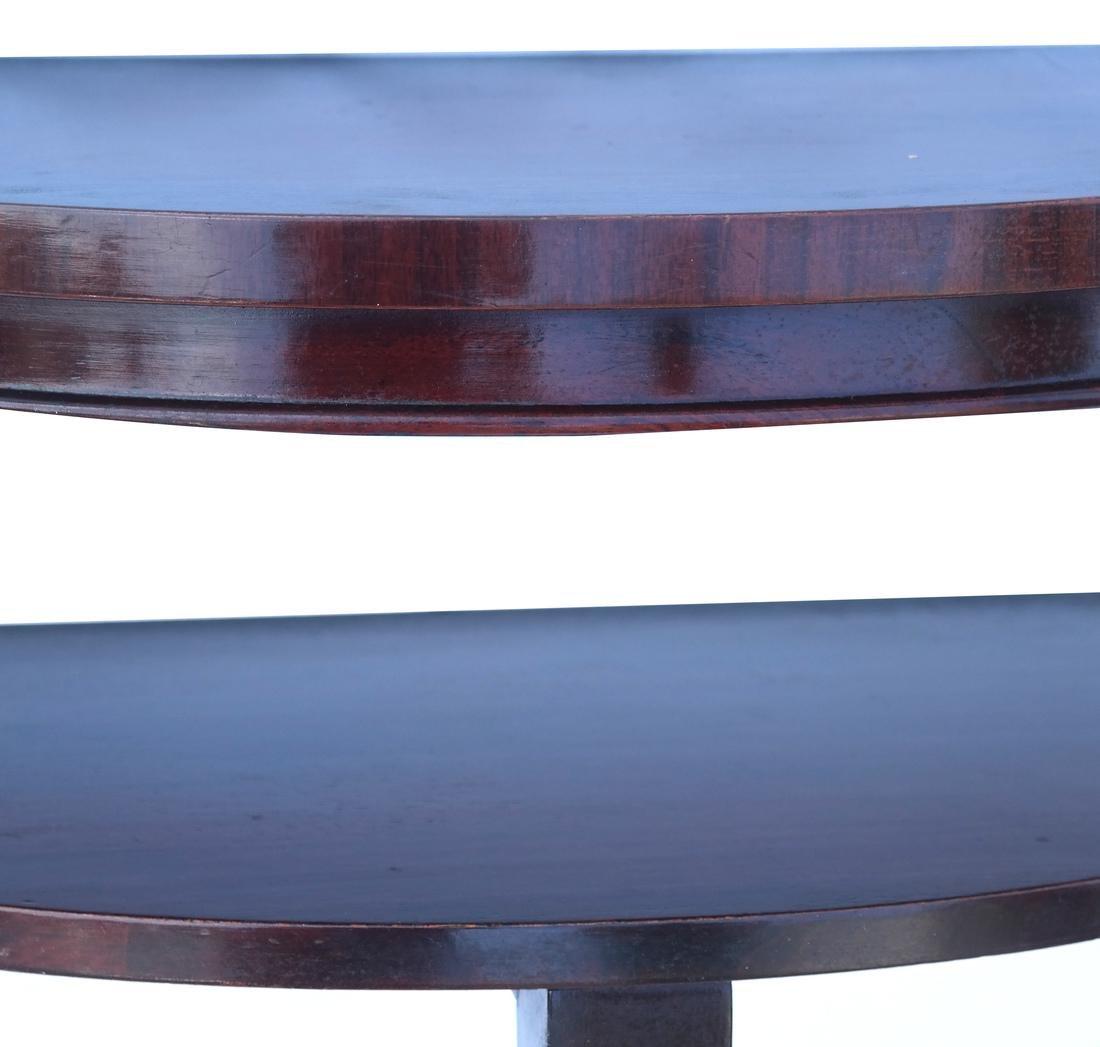 Mahogany Serpentine-Form Bracket - 3