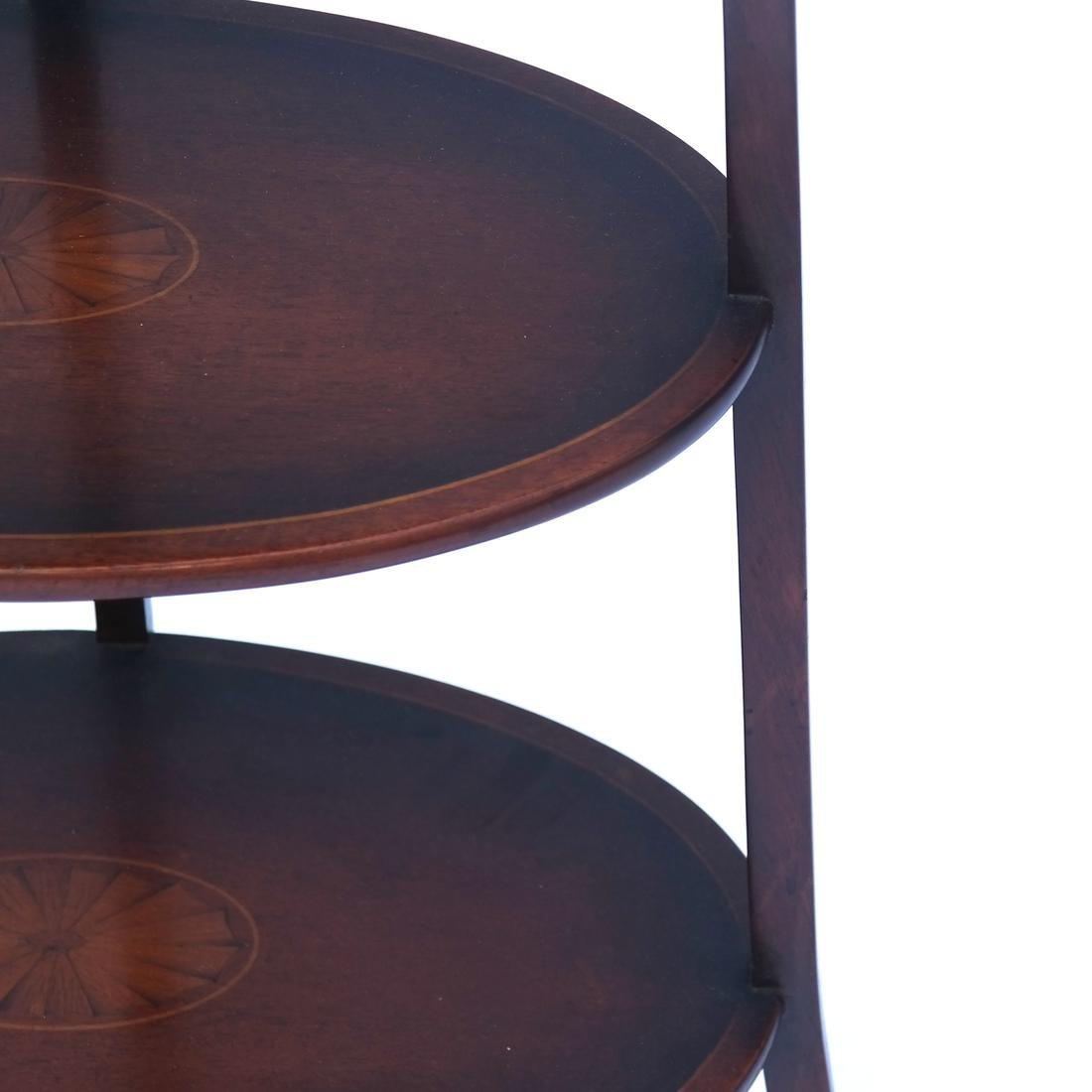 Three-Tier Inlaid Muffin Stand - 3