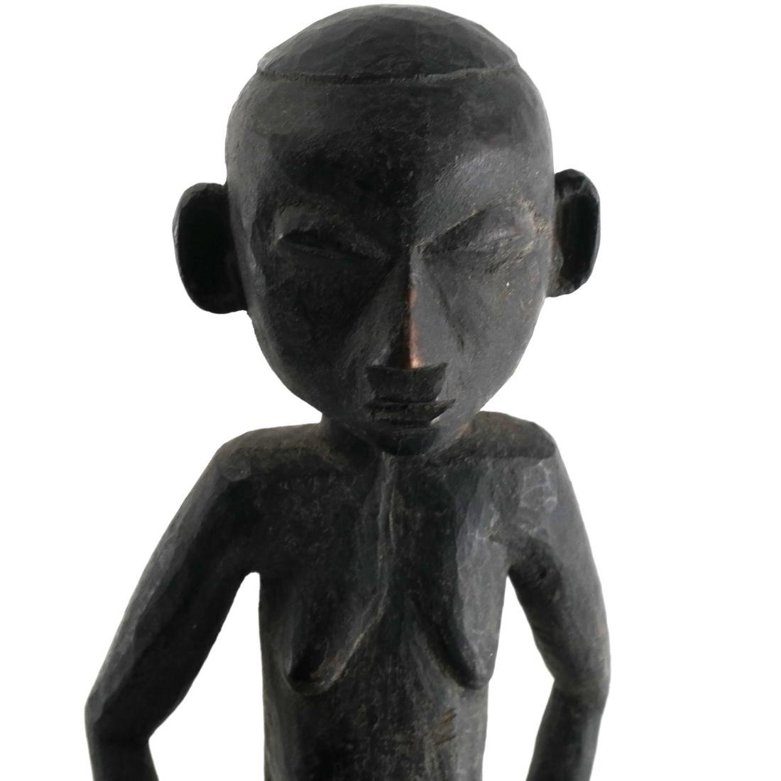 West African Carved Wood Sculpture - 2