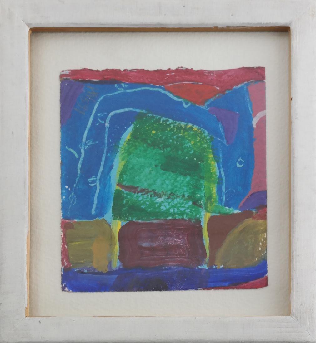 Gerry Van De Wiele Abstract Watercolor