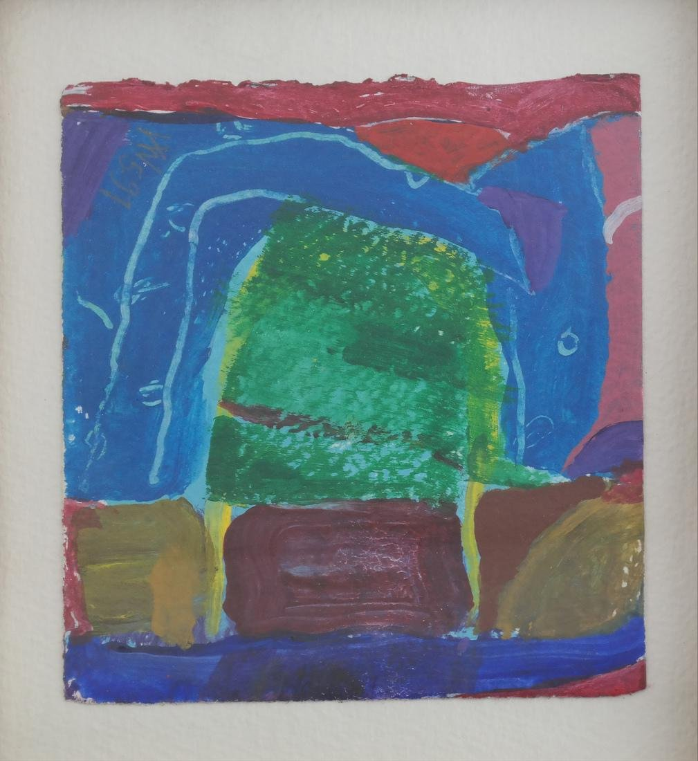 Gerry Van De Wiele Abstract Watercolor - 2