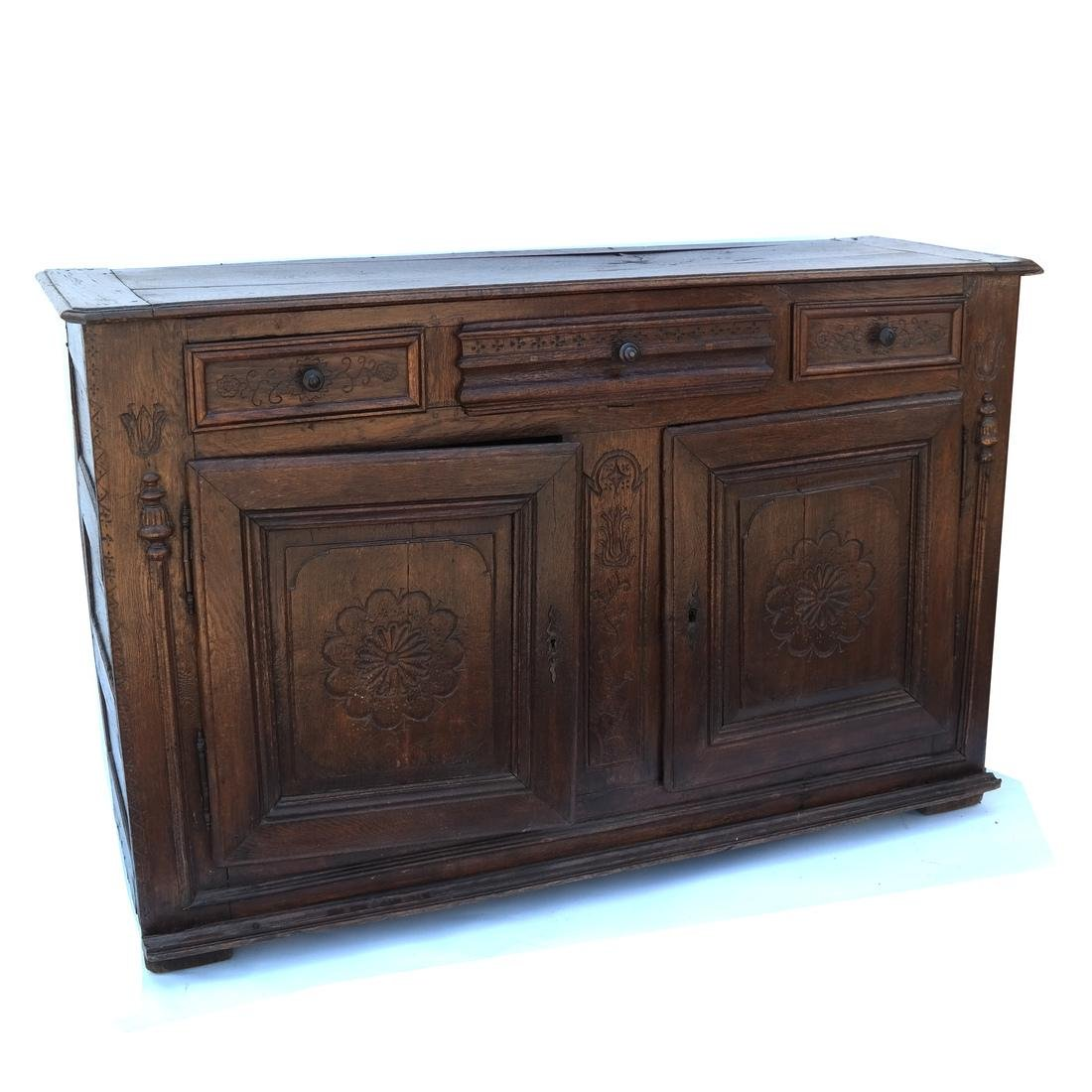 Antique French Provincial Sideboard